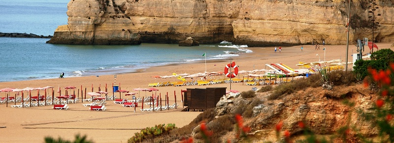 Accessible beach Algarve Portugal