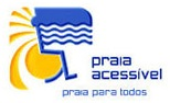 Accessible beach logo Algarve