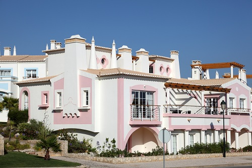Building With Chimneys Algarve Portugal