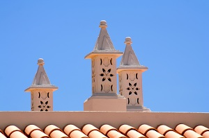 Algarve Decorated Chimney Portugal