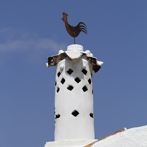 Algarve Chimney Rooster Portugal