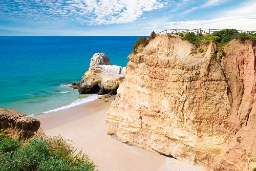Algarve private cove and beach