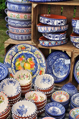Traditional Pottery from Porches Algarve Portugal
