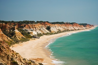Algarve Atlantic beach at Vila do Bispo