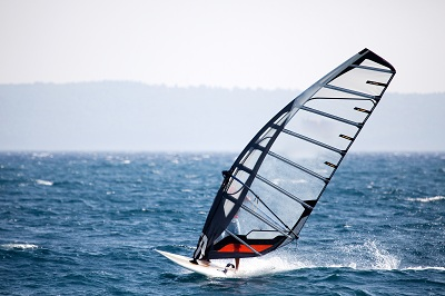 Windsurfing in the Algarve