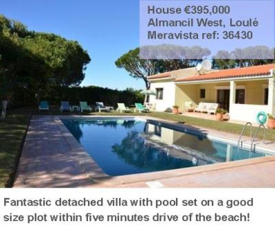 Detached Villa for Sale Almancil Loule Algarve Portugal