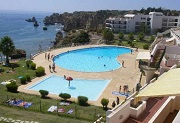 Algarve 2 bedroom apartment for sale above Dona Ana Beach in Lagos