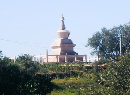 The Buddhist Stupa of Salir, the first Stupa in Portugal