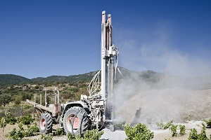 Borehole drilling in Portugal