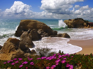 Fantasy beaches in the Algarve