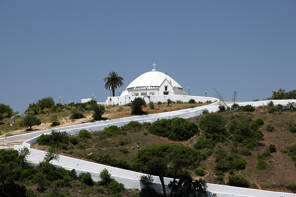 Loule church on the hill