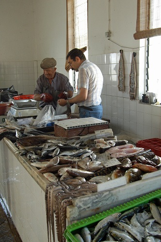 Olhao fish merchant
