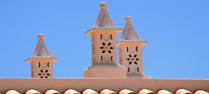 Typical Algarve Chimneys