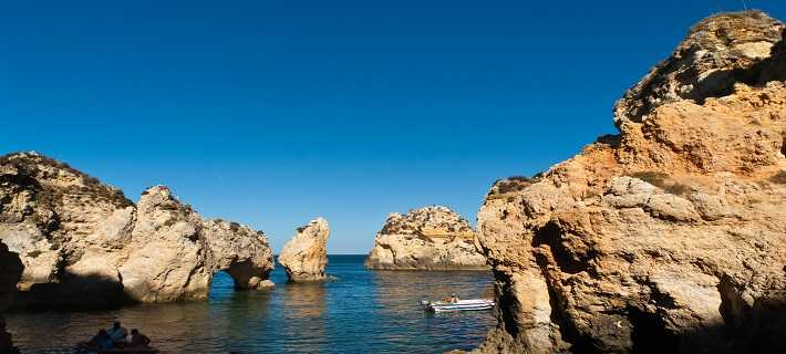 Lagos Algarve Cliffs and Grottos