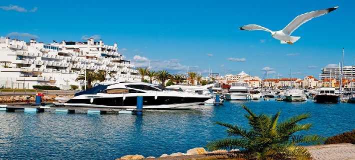 A belíssima Marina de Vilamoura no Algarve, Portugal