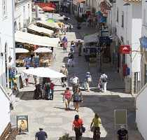 Albufeira Town Street