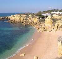 Beautiful Algarve coastline