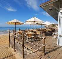 Dining Out on the Beach Algarve