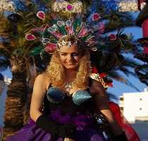 Loule Carnival Participant