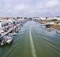 Tavira Town Canal
