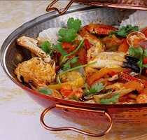 Traditional Algarve Cuisine Cataplana Portugal