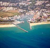 Vilamoura Aerial View